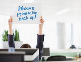 Promoción de Back up